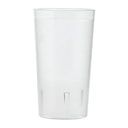 Crystal 12 Ounce Tumblers - HUBERT Tumbler Drinking Glass Clear Plastic 12 Ounce SAN