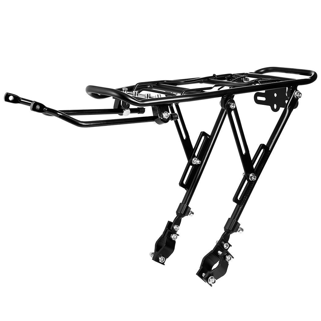 Bike Rear Rack Cycling Bicycle Carrier  Mount Luggage Shelf Bracket for V-Brake