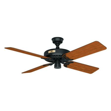 Hunter Original 52 In  Indoor Outdoor Ceiling Fan With Remote