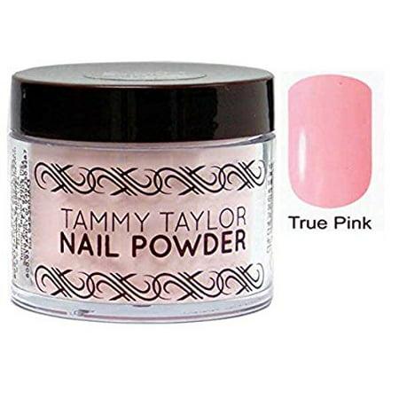 Tammy Taylor Nail Original Powder - 1.5oz (TRUE PINK - TP) (Tammy Taylor Original Liquid)