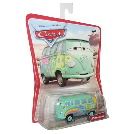 Disney Pixar Cars Movie Fillmore Desert Scene Background Series 1 Die Cast Toy Car