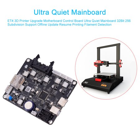 ET4 3D Printer Upgrade Motherboard Control Board Ultra Quiet Mainboard 32Bit 256 Subdivision Support Offline Update Resume Printing Filament Detection - image 6 of 7