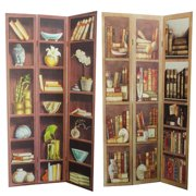 Entrada EN26036 Room Divider - Bookshelf
