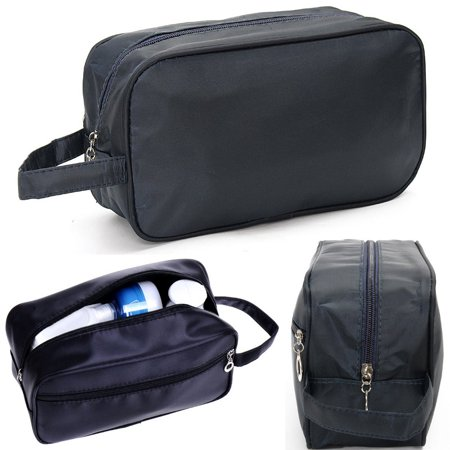 Black Travel Waterproof Toiletries Bag Wash Shower Organizer Kit Case Handy Carry Tote for Mans Today's Special Offer!](Shower Bags)