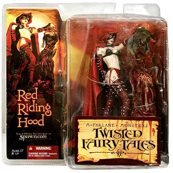 McFarlane McFarlane Toys Twisted Fairy Tales Red Riding Hood Action Figure