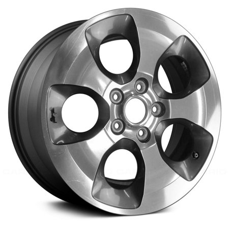 Aluminum Alloy Wheel Rim 18 Inch OEM Take Off Fits 2013-2015 Jeep Wrangler 5-127mm 5 (35 Tires And Rims For Jeep Wrangler)