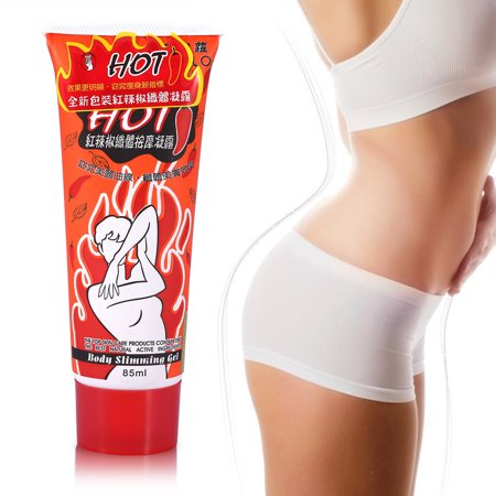 LAFGUR Fat Burner Gel, 85ml Fat Burner Slimming Cream Massage Hot Anti-Cellulite Body Wrap Weight Loss Gel Body Wraps Reduce Cellulite