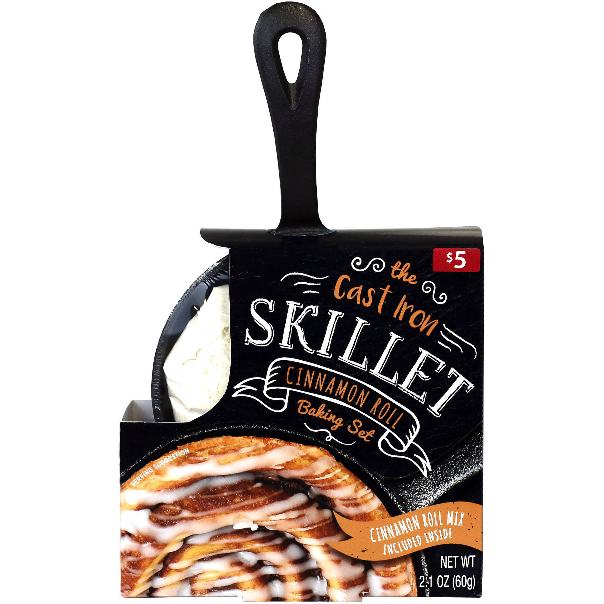 The Cast Iron Skillet Cinnamon Roll Baking Set, 2 pc
