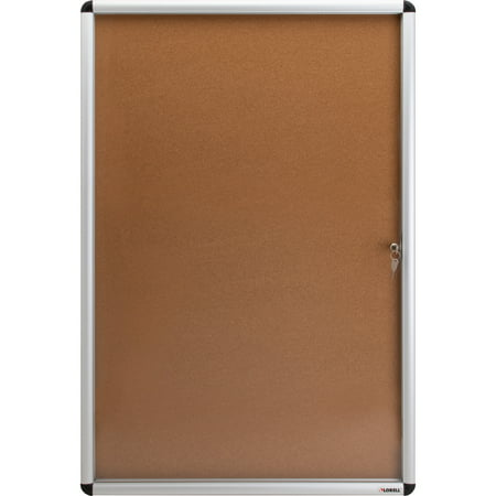 Lorell Bulletin Board (Lorell, LLR42706, Enclosed Cork Bulletin Boards, 1 Each)