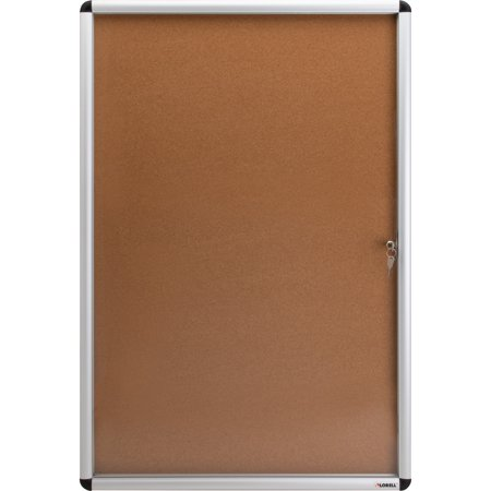 Lorell, LLR42706, Enclosed Cork Bulletin Boards, 1 Each