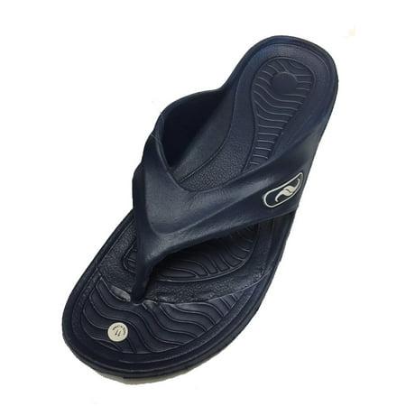 35f1b8ed529 Shoe Shack - 0121 Men s Rubber Sandal Slipper Comfortable Shower Beach Shoe  Slip On Flip Flop - Walmart.com