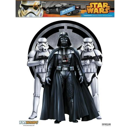 FanWraps Star Wars Galactic Empire Graphic Vinyl Decal (Empire Halloween)