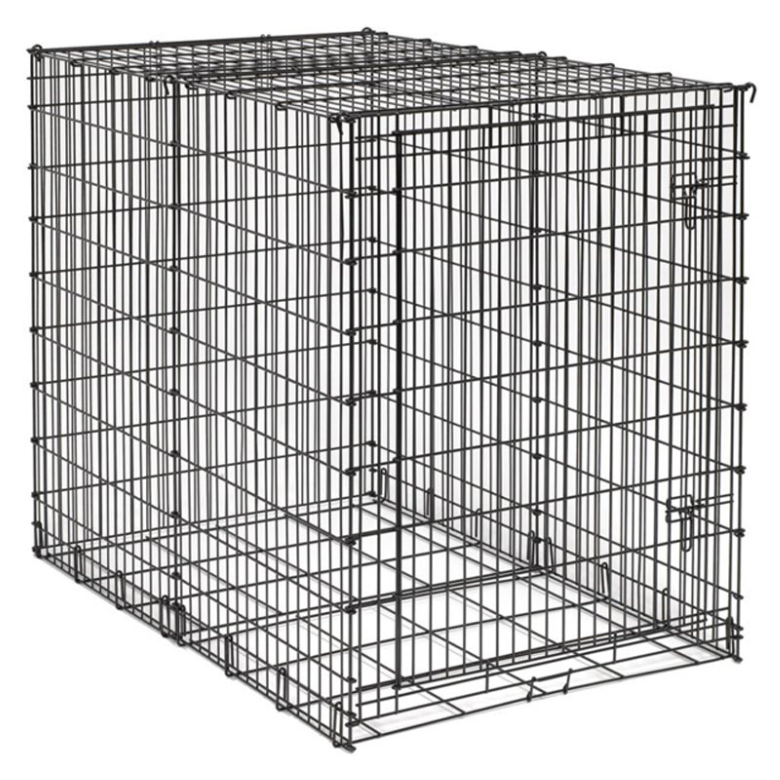 """Midwest Big Dog Crate, Black, 54"""" x 35"""" x 45"""" by Midwest"""