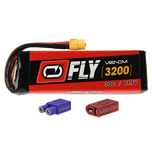 Venom Fly 30C 3S 3200mAh 11.1V LiPO Battery with Universal 2.0 Plug
