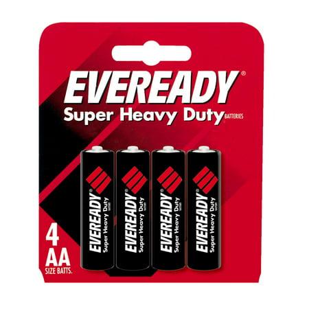Eveready Super Heavy Duty AA Carbon Zinc