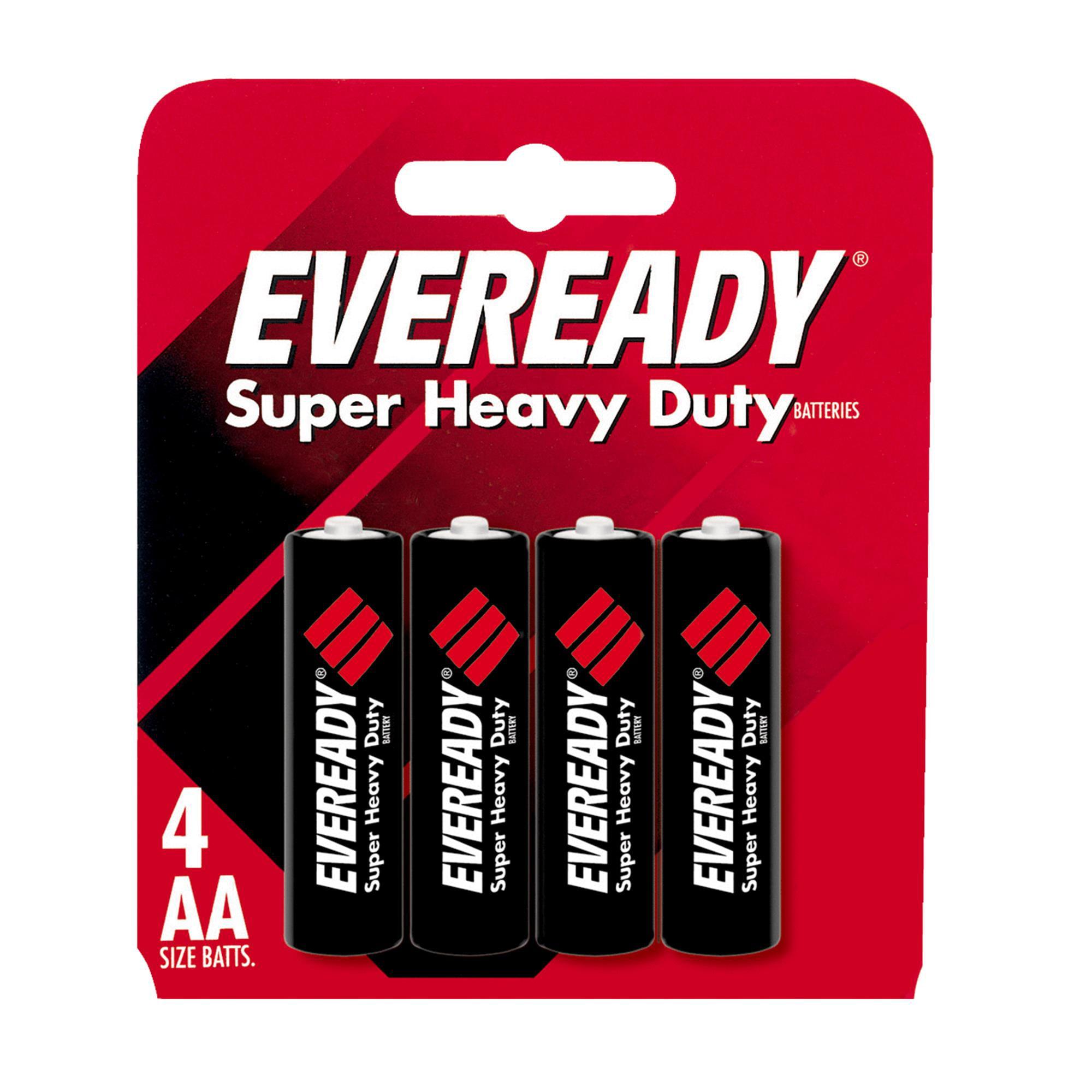Eveready Super Heavy Duty AA Carbon Zinc Battery