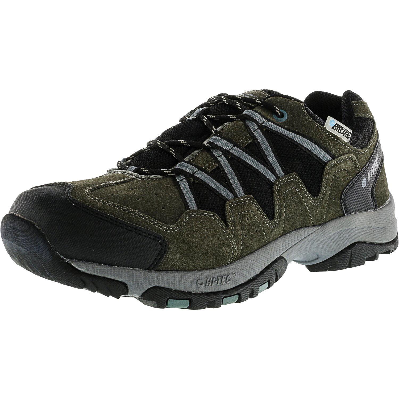 Hi-Tec Men's Dexter Low Wp Dark Gull Grey   Goblin Blue Ankle-High Hiking Shoe 14M by Hi-Tec