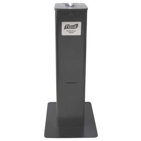 PURELL Wipes High Capacity Floor Stand Dispenser, Black  9118-DS2B