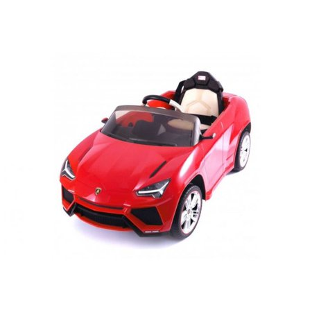 Ride On Car For Kids Licensed Lamborghini Urus 12V Red With Remote Control  Led Lights  Mp3 Aux  Horn And Engine Sounds