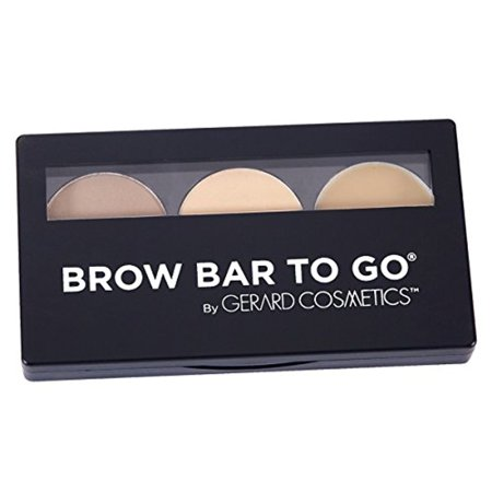 Brow Bar to Go, Brush on Brow - Gerard Cosmetics, Blonde to Brunette