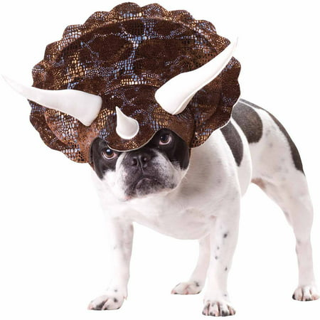 Homemade Pet Halloween Costumes (Triceratops Animal Planet Halloween Pet Costume (Multiple Sizes)