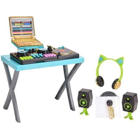 My life as dj play set with sound for dolls, designed for ages 5 and - My Dress Up Shop