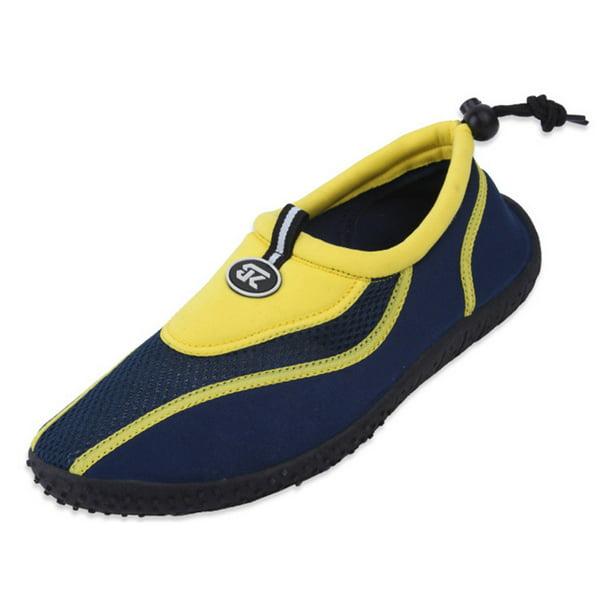 Star Bay - New StarBay Brand Men's Athletic Water Shoes Aqua Socks Yellow  Size 11 - Walmart.com - Walmart.com