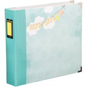 "Project Life Printed Chipboard D-Ring Album, 12"" x 12"", Dear Lizzy, Neapolitan Banner"