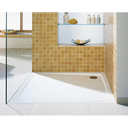 Kaldewei Superplan 35.4'' x 39.4'' Shower Tray in White