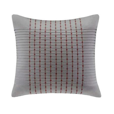 N Natori Cherry Blossom European Pillow Sham In Charcoal Bloom Pillow Sham