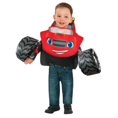 Blaze & the Monster Truck: Blaze Tunic Toddler Costume - Truck Costume