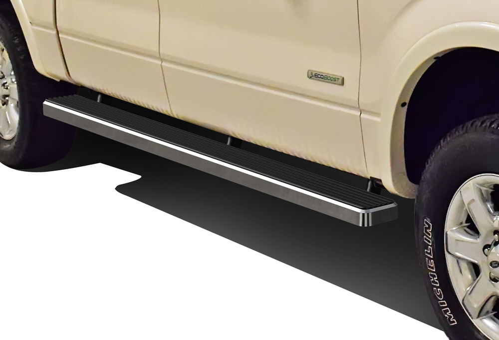 Iboard Running Boards   Ford F  Supercrew Cab