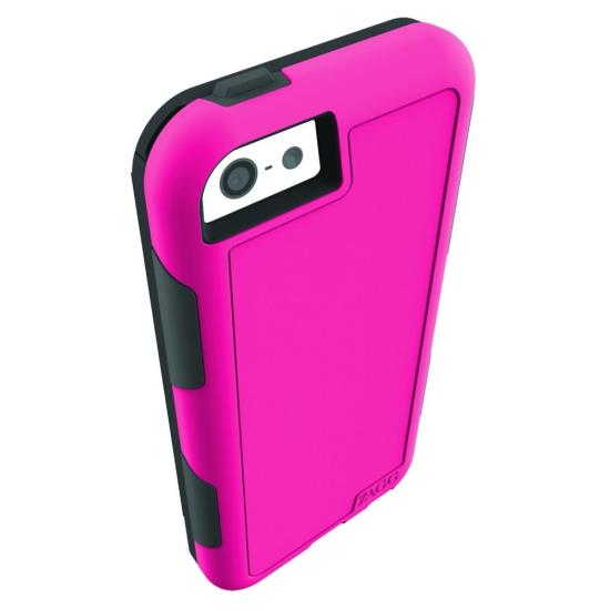 InvisibleShield Arsenal Case for iPhone 5C + invisibleSHIELD Extreme Screen Protector - Pink