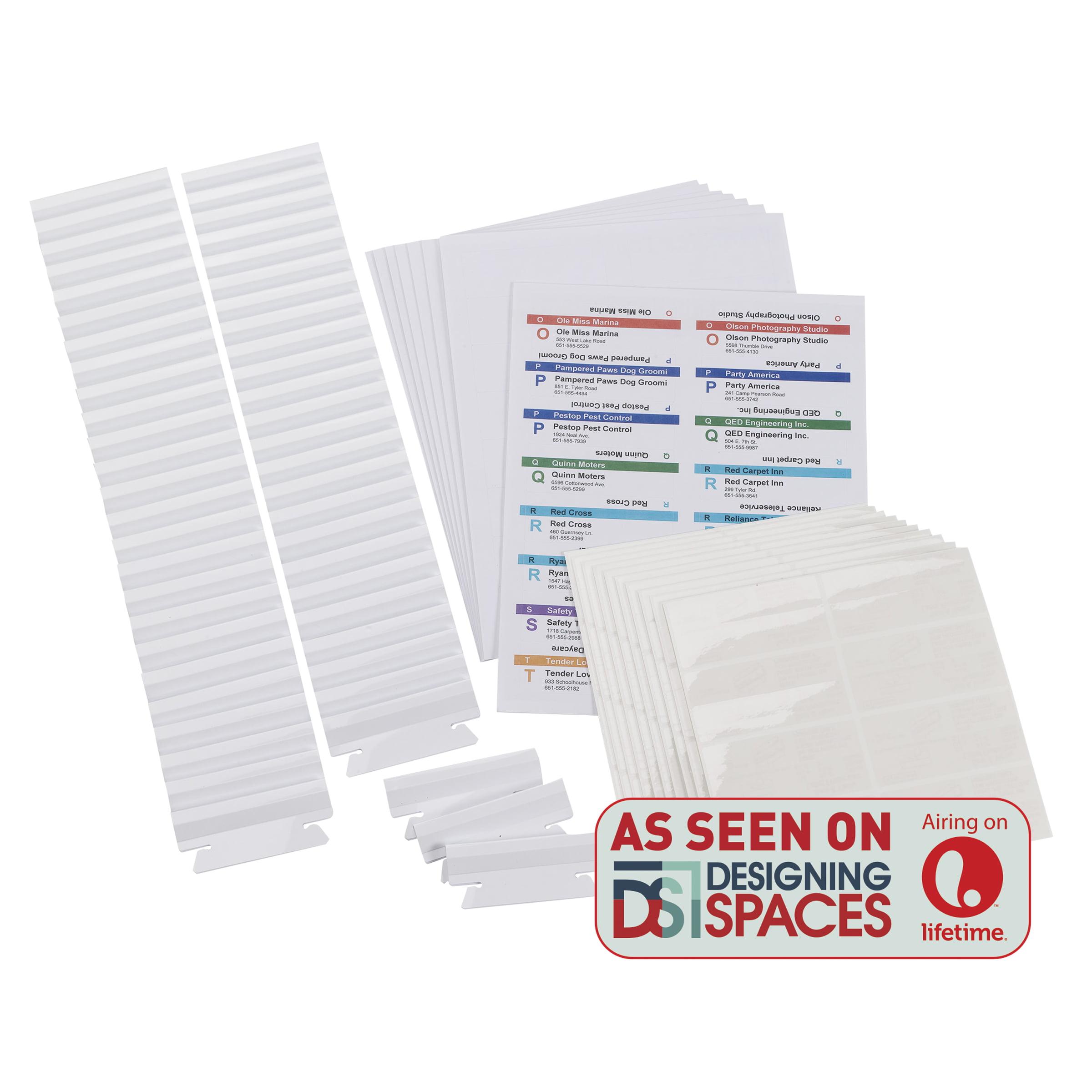 Smead® Viewables® Premium 3D Hanging Folder Tabs and Labels for Inkjet and Laser Printers, bulk pack of 100 (64910)