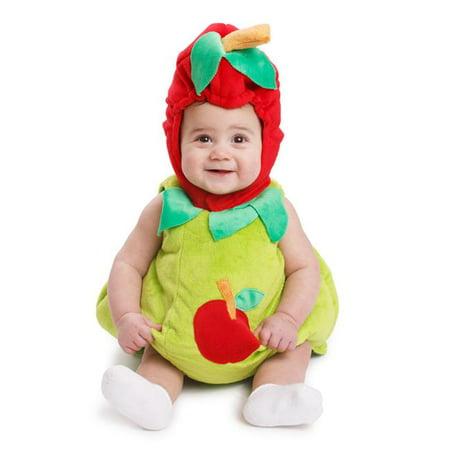 Dress Up America 867-12-24 Sugar Sweet Apple Costume pour les b-b-s de 12 - 24 mois - image 3 de 3