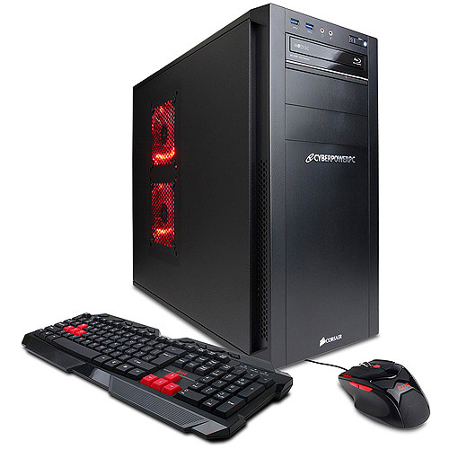 CYBERPOWERPC Black Gamer Ultra GUA460 Desktop PC with AMD FX-8350 Vishera Processor, 16GB Memory, 1TB Hard Drive and Windows 8 Operating System (Monitor Not Included)