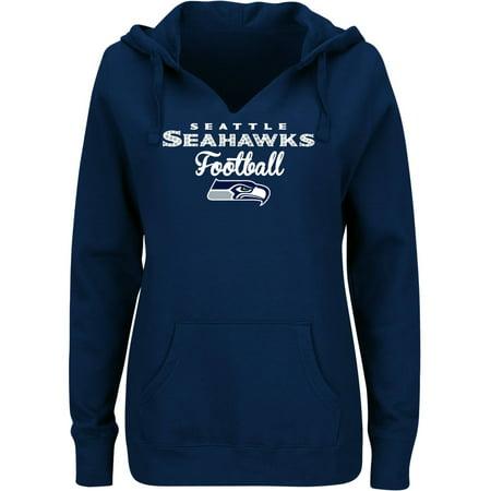 NFL Seattle Seahawks Ladies Fleece Hoodie by