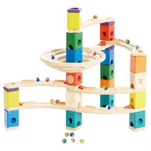 Hape Quadrilla Whirlpool Marble Run Wood Toy