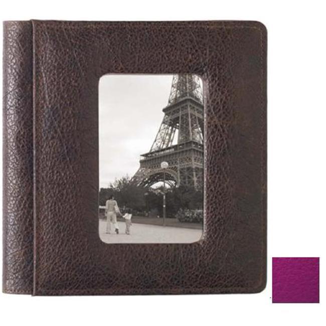 Raika RO 168 MAGENTA 4inch x 6inch Frame Front Album Foldou - Magenta