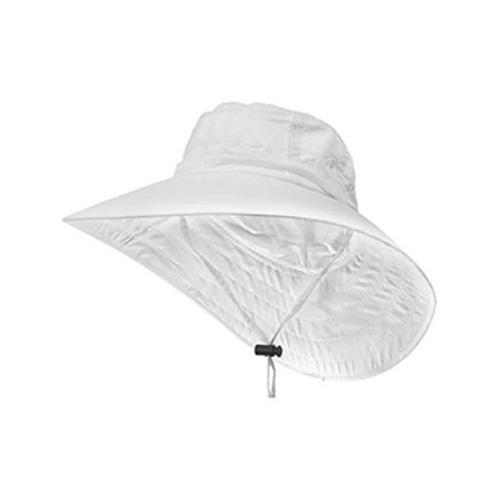 05129502 Sun Protection Zone - Sun Protection Zone Kids Unisex Lightweight  Adjustable Outdoor Booney Hat (100 SPF, UPF 50+) - White - Walmart.com