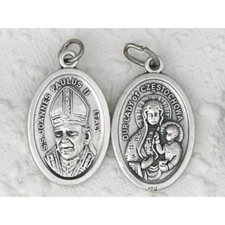Pope John Paul Medal - 50 Pope John Paul II/Czestochowa Medals