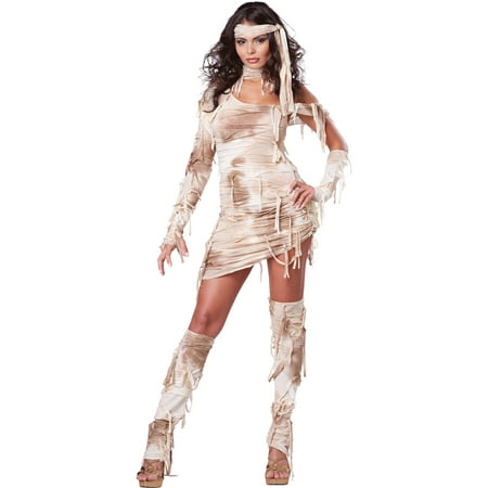 Mystical Mummy Adult Halloween Costume - Mummy Halloween Face