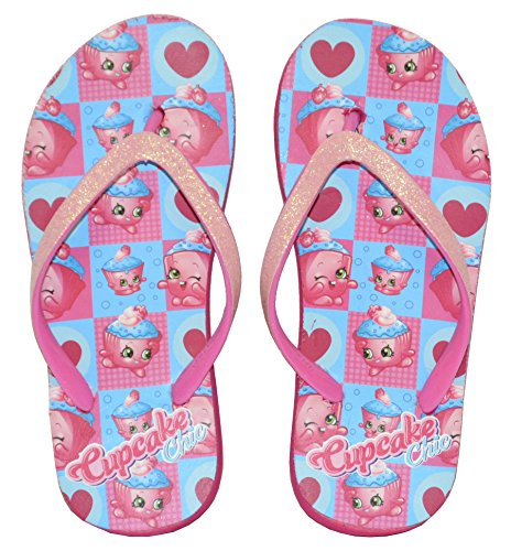 Little Girl/'s Wedge Flip Flop Sandal by Shopkins