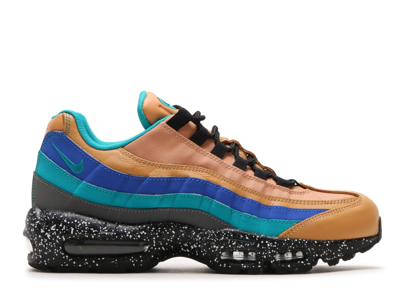 official photos e737f cf60d ... new zealand nike mens nike air max 95 premium praline turbo green cool  grey mega blue
