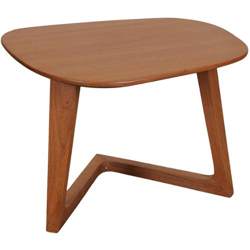 Aurelle Home Solid American Walnut End Table