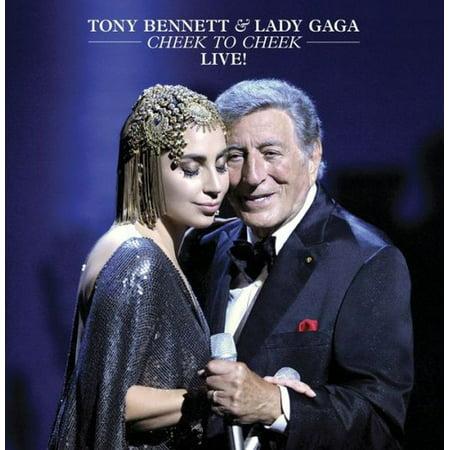 Tony Bennett & Lady Gaga: Cheek to Cheek Live! (DVD) (Lady Gaga Roter Lippenstift)