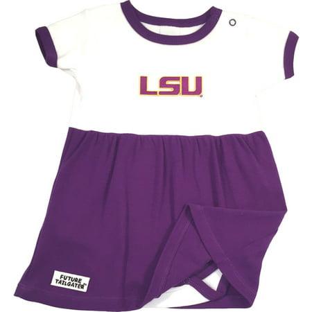 LSU Tiger Baby Onesie Dress