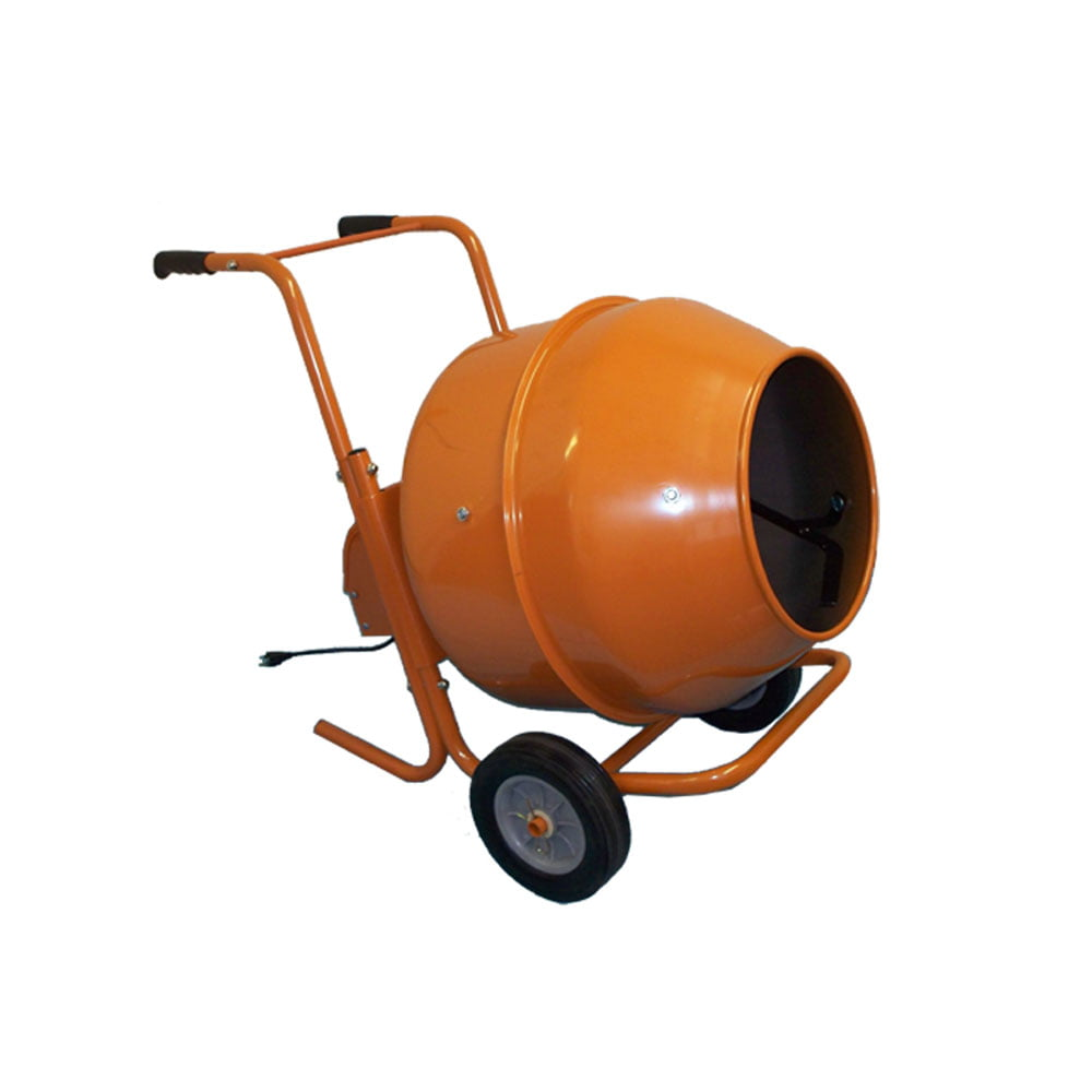 5 Cubic Ft. Wheel Barrow Portable Cement Mixer Concrete Mixer by PROLINEMAX