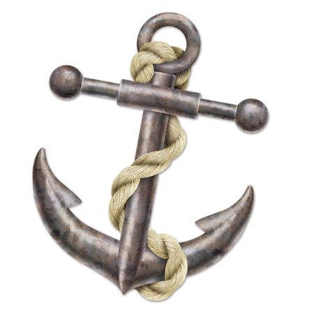 The Beistle Company Jointed Anchor Wall D cor - Anchor Wall