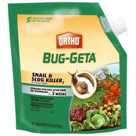 3.5 LB Ortho Bug-Geta Snail & Slug Killer Results In 1-3 Days Safe Aro Only